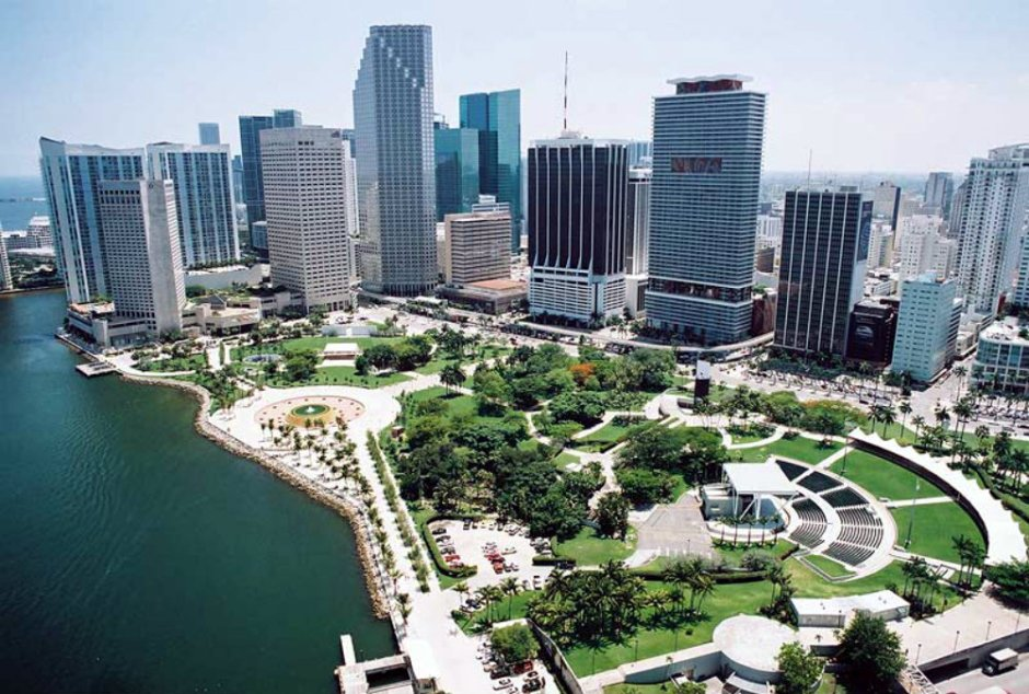 Downtown Miami Walk and Picnic in the Park